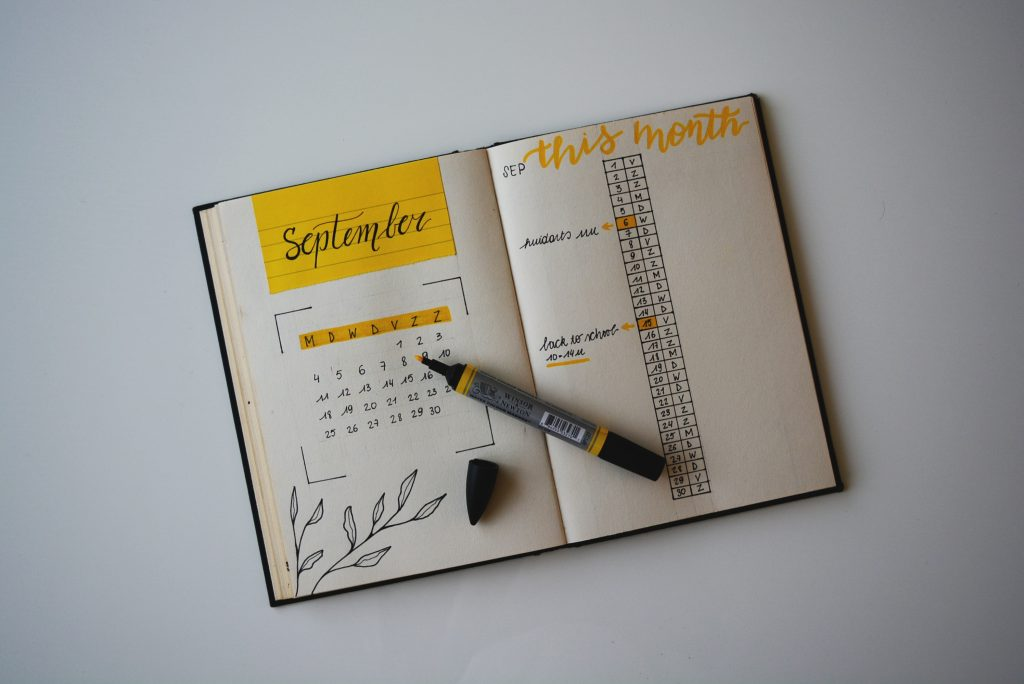 Marketing Calendar for Your Online Store (Bacon Day is 1st. of September) september calendar