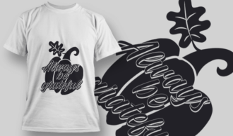 2113 Always be Grateful SVG Quote T-shirt Designs and Templates vector