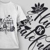 Free Hakuna Matata T-shirt design – 1918 Freebies floral