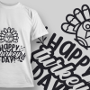 2254 Feeling Blessed T-Shirt Design 2116 Happy Turkey Day