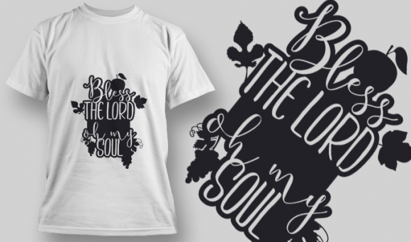 2153 Bless The Lord Oh My Soul SVG Quote 5