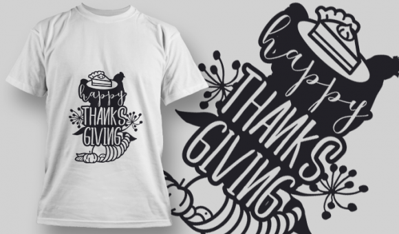 2162 Happy Thanksgiving 2 SVG Quote 5
