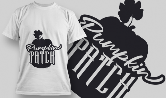 2167 Pumpkin Patch SVG Quote T-shirt Designs and Templates vector