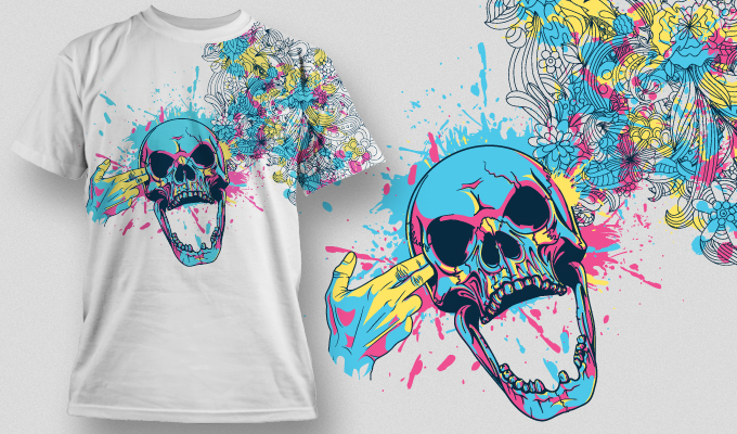 The Free Vector T-shirt Designs Mega Set products designious tshirt design 457