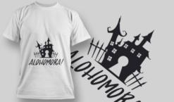 2213 Alohomora Typography Plus vector
