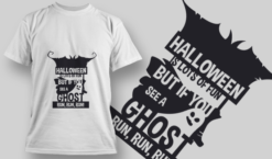 2220 Halloween Is Lots Of Fun T-Shirt Design T-shirt designs and templates vector