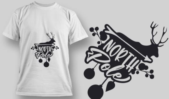 2281 North Pole T-Shirt Design 2281 North Pole