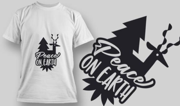 2282 Peace On Earth T-Shirt Design 2282 Peace on Earth