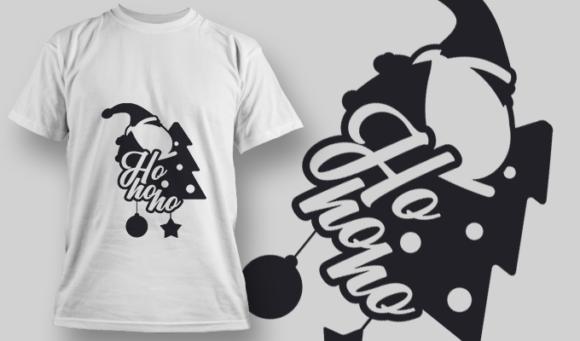 2296 Ho Ho Ho T-Shirt Design 2296 Ho Ho Ho
