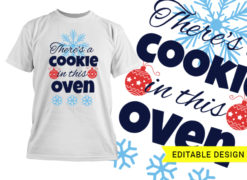 There's a cookie in this oven