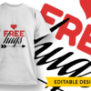 5-Star Job T-shirt Designs and Templates LOVE