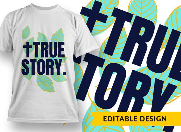 True Story Design Template true story preview
