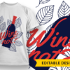 I just want some wine and pet my dog T-shirt Designs and Templates colorful