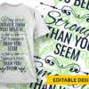 The god of love and peace will be with you Design Template T-shirt Designs and Templates pattern