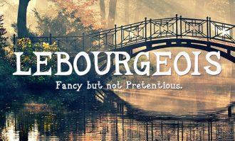 LeBourgeois Font Fonts Font, Otf, ttf