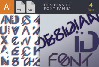 Full library Pricing Obsidian Font Family small