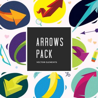 Arrows 1 Vector Pack Vector packs Arrows,vector,clipart,element,illustration