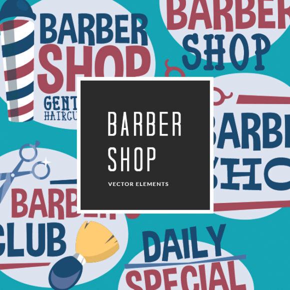 Free Barber Shop Vector Clip Art Freebies vector