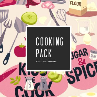 Cooking Vector Pack Vector packs Cooking,vector,clipart,element,illustration