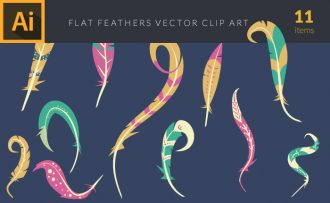 Feathers 1 Vector Pack Vector packs Feathers,,vector,clipart,element,illustration