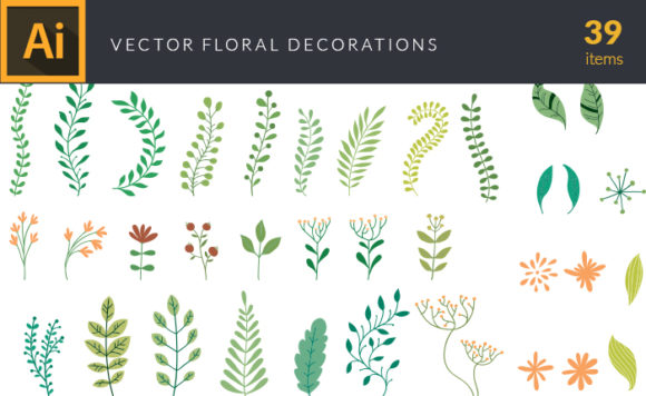 Floral Decorations | Vector Pack
