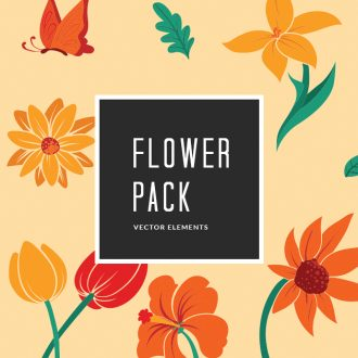 Flower 10 Vector Pack Vector packs Flower,,vector,clipart,element,illustration