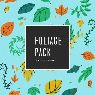 Foliage Vector Pack Vector packs Foliage,vector,clipart,element,illustration