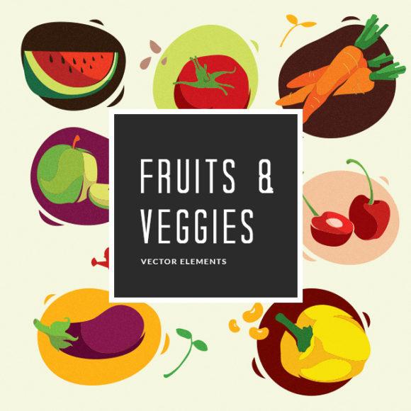Fruits & Vegetables | Vector Pack
