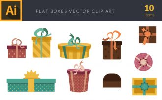 Gifts 1 Vector Pack Vector packs Gifts,,vector,clipart,element,illustration