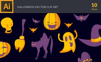 Halloween Vector Pack Vector packs Halloween,vector,clipart,element,illustration