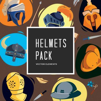 Helmets Vector Pack Vector packs Helmets,vector,clipart,element,illustration