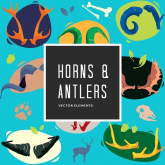 Horns Vector Pack Vector packs Horns,vector,clipart,element,illustration