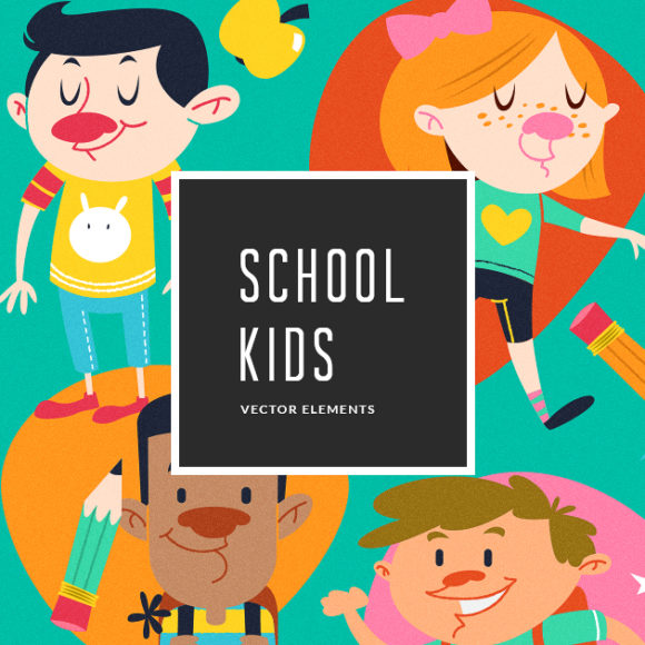 Illustrated Kids | Vector Pack