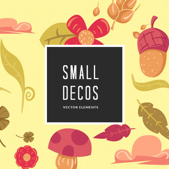 Small Decorations Vector Pack Vector packs Small,Decorations,vector,clipart,element,illustration