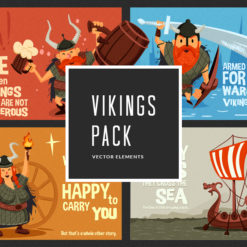 Vikings Vector Pack Vector packs Vikings,vector,clipart,element,illustration