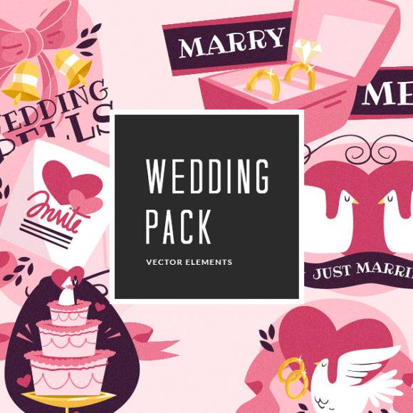 Wedding Vector Pack designious vector wedding small