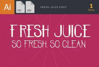 Fresh Juice Font Fonts Font, Otf, ttf