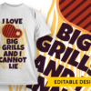 May the bridges I burn light my way i love big grills and i cannot lie preview