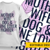 I love you 3000 + placeholder T-shirt Designs and Templates mother