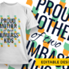 This mom loves her marine (placeholder) proud mother of two dumbass kids preview