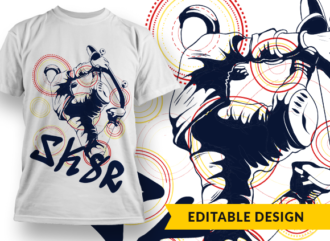 SK8R T-shirt Designs and Templates silhouette