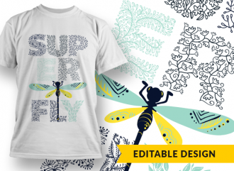 SUPERFLY T-shirt Designs and Templates ornate