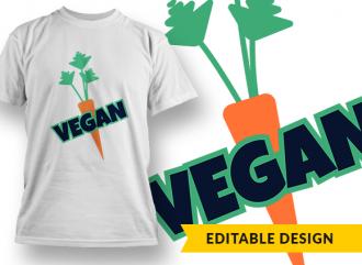 Vegan T-shirt Designs and Templates funny