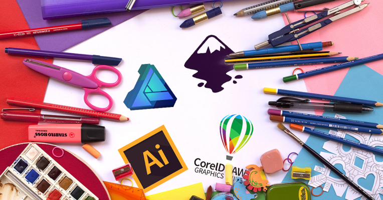 Top Free Video Courses to Learn Adobe Illustrator, Corel Draw, Inkscape and Affinty Designer 52