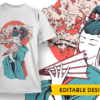 Even monkeys fall from trees geisha cherry tree preview