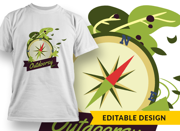 Outdoorsy T-shirt Designs and Templates camping