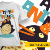 Surrender the booty T-shirt Designs and Templates pirate