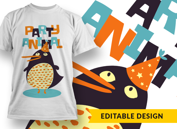 Party animal T-shirt Designs and Templates pirate