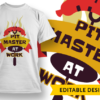 Gamer Dad T-shirt Designs and Templates game