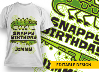 Full library Pricing snappy birthday name preview